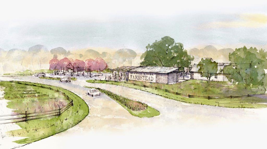 farmstead village at kiawah river development