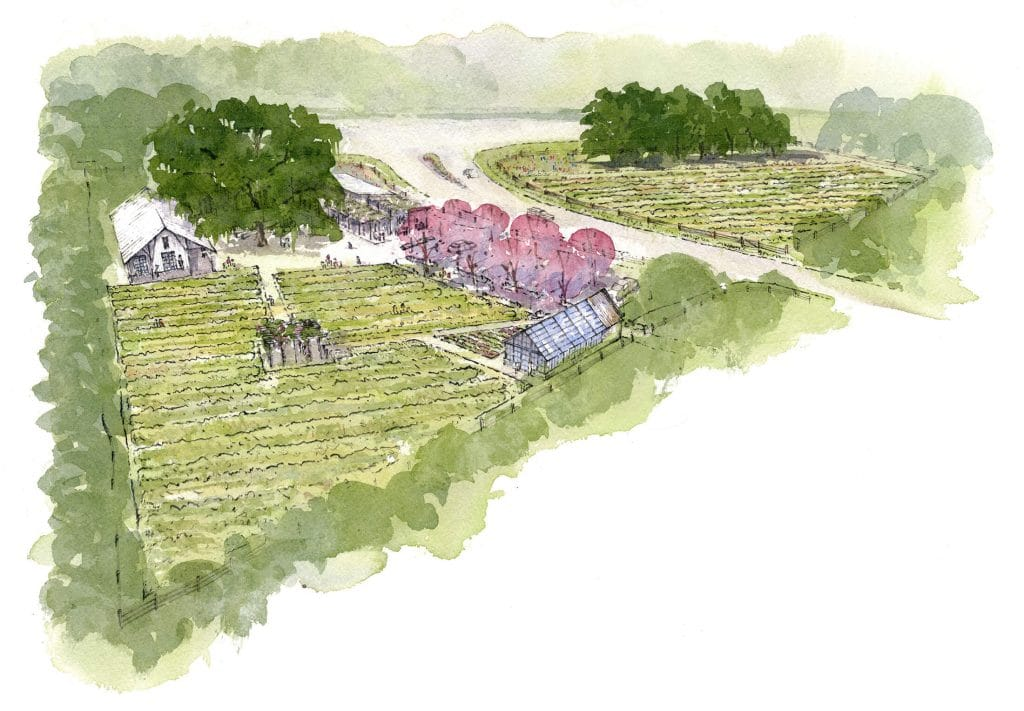 farmland rendering at kiawah river development