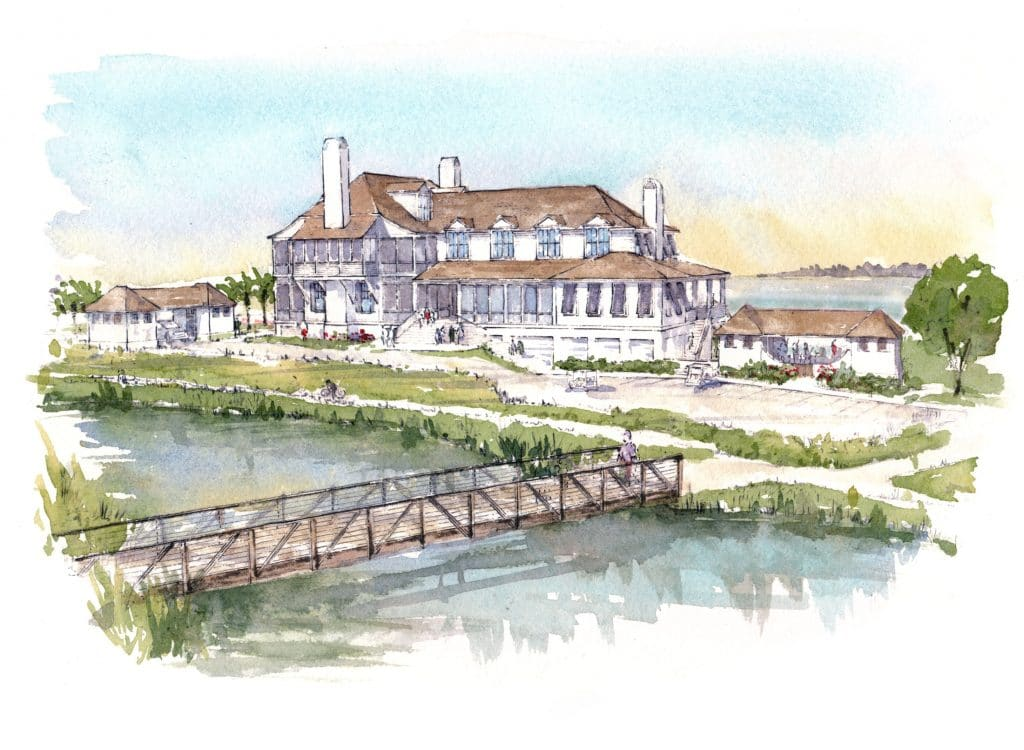 kiawah river lodge rendering