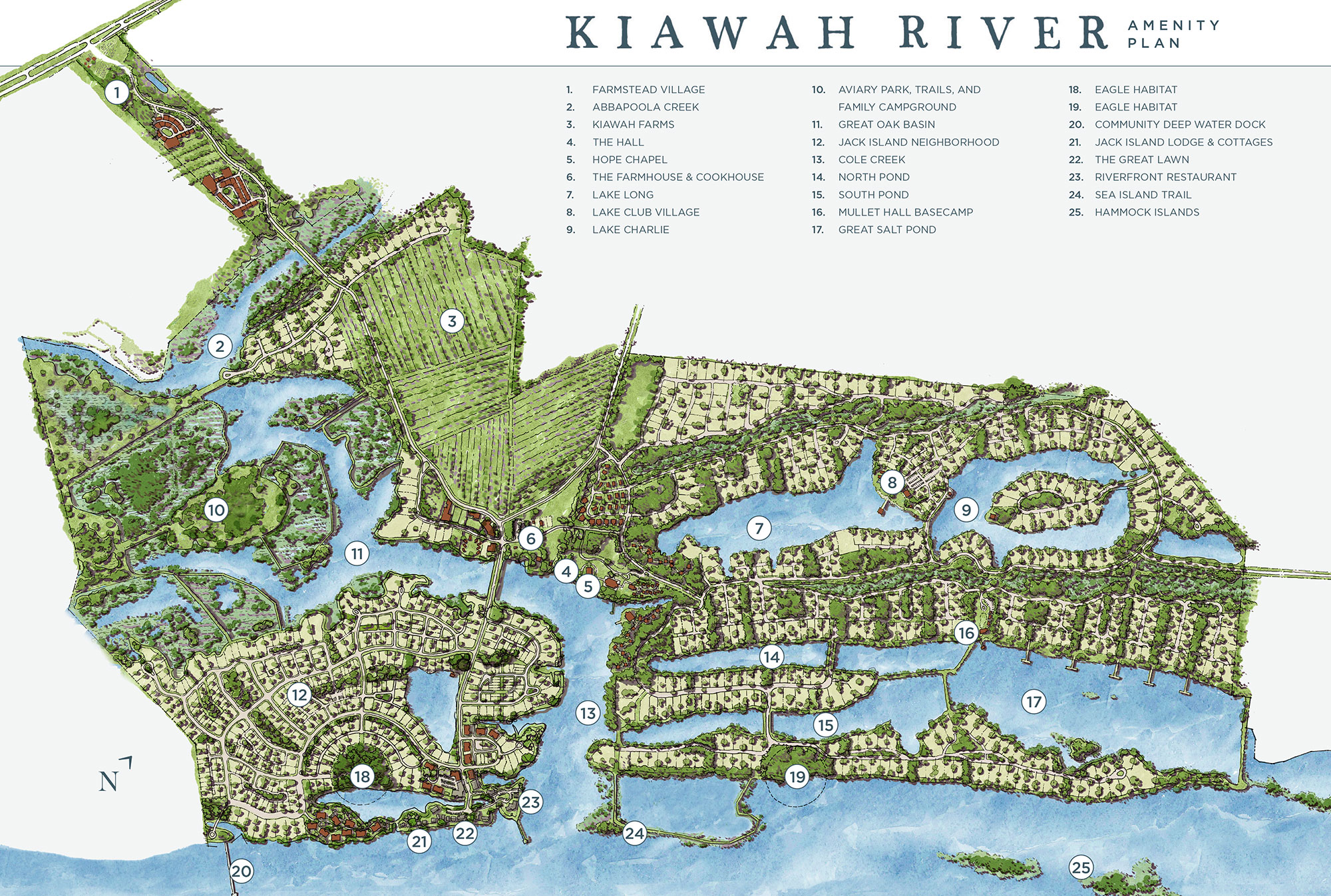 Kiawah River Amenity Plan